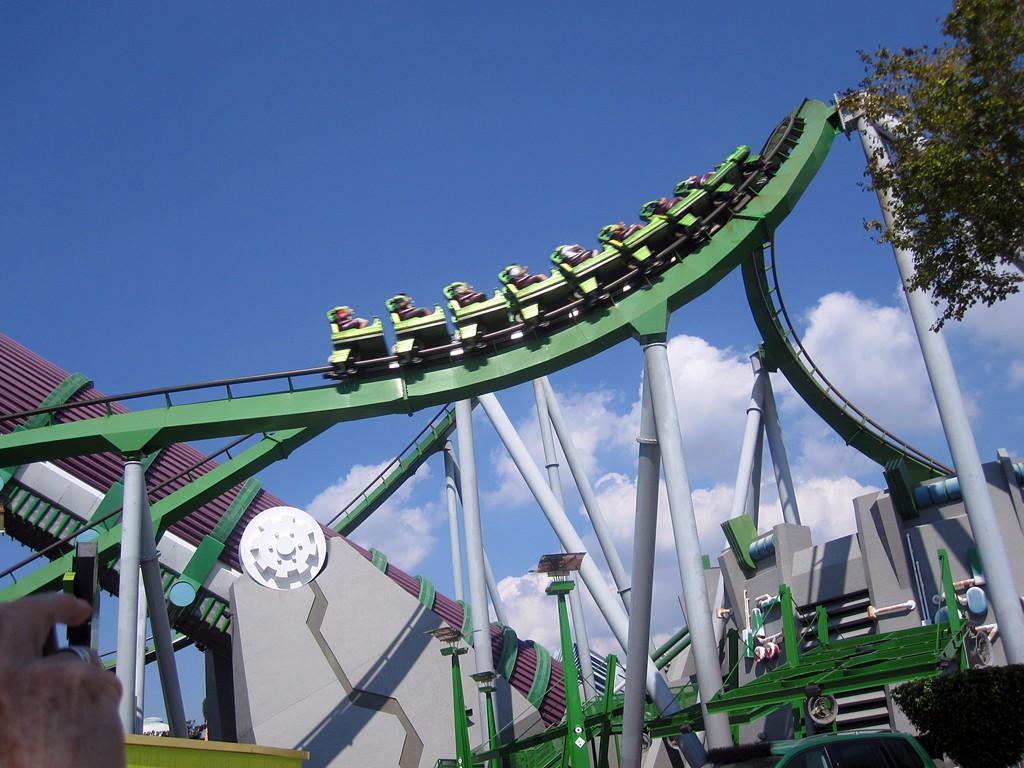 incredible hulk coaster - HD1024×768